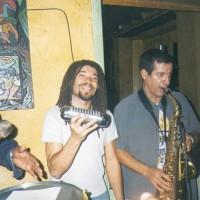 Percu et saxophone