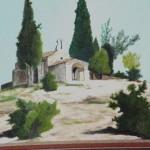 Peinture Chapelle Sainte-sixte