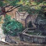 Peinture Vielle Fontaine