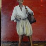 Peinture portrait Yaouled