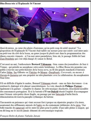 article blu bossa